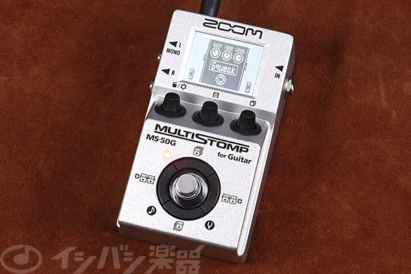 ZOOM MS-50G MultiStomp Guitar Pedal [Yokohama]