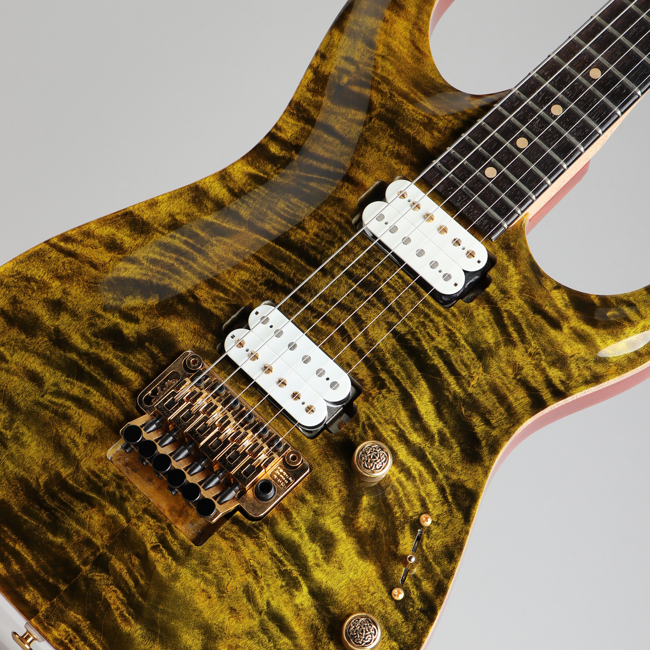 Pensa Custom Guitars MK-1 HH Style Tiger Eye 2015
