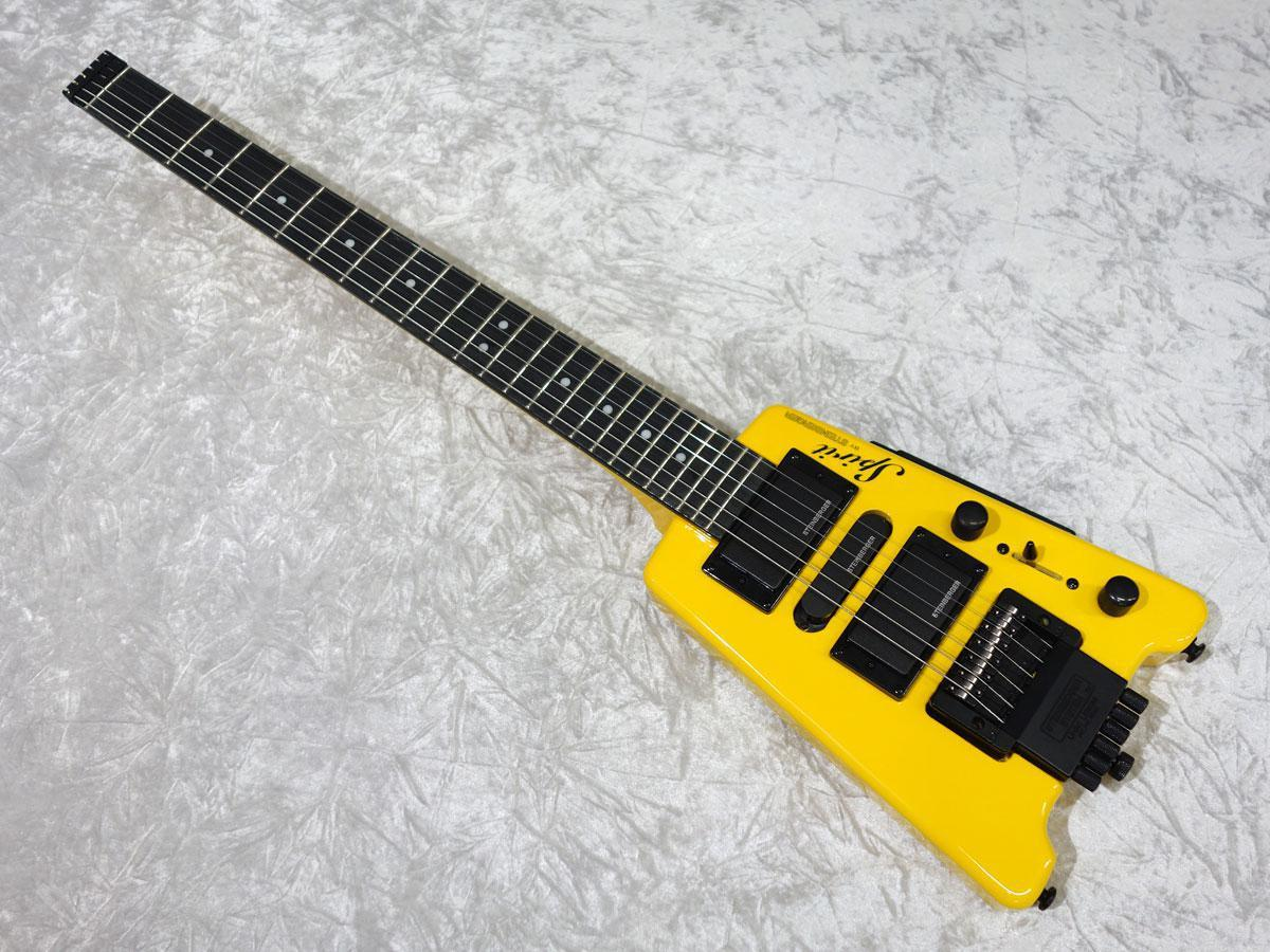 Steinberger Spirit GT-Pro Deluxe Hot Rod Yellow【ストリングアダプタープレゼント!】