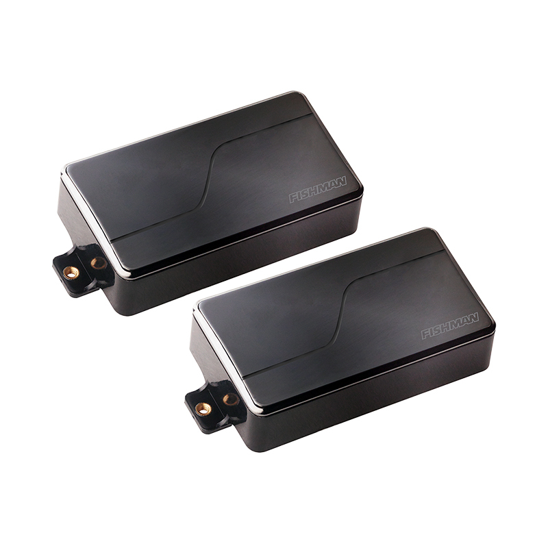 FISHMAN Fluence Modern Humbucker Alnico&Ceramic Pickup Set Black Nickel 【アクティブ】【即納可能】