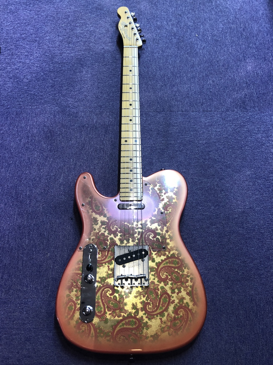 NO BRAND Pink Paisry Tele Lefty