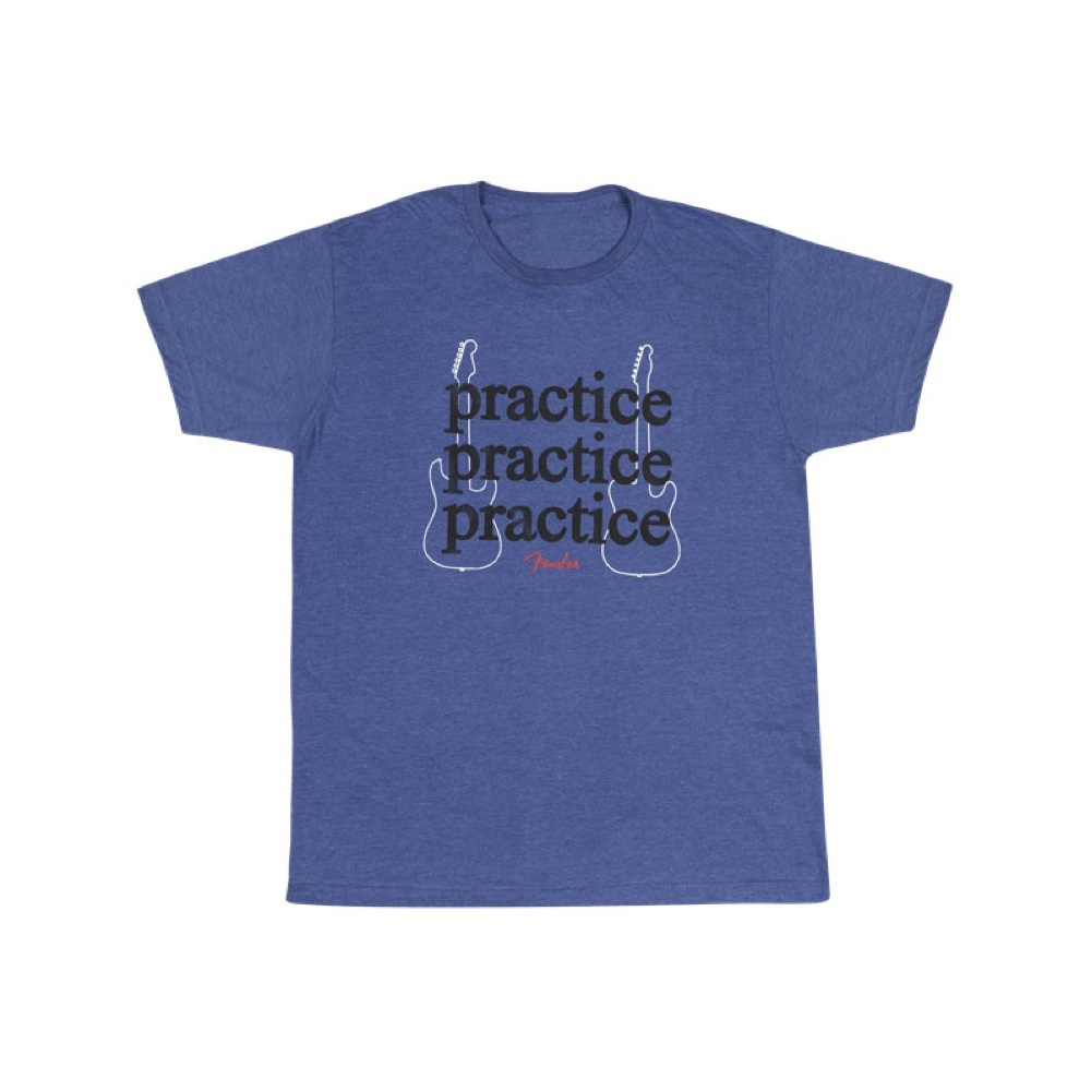 Fender Practice T-Shirt Heather Blue XLサイズ Tシャツ 半袖