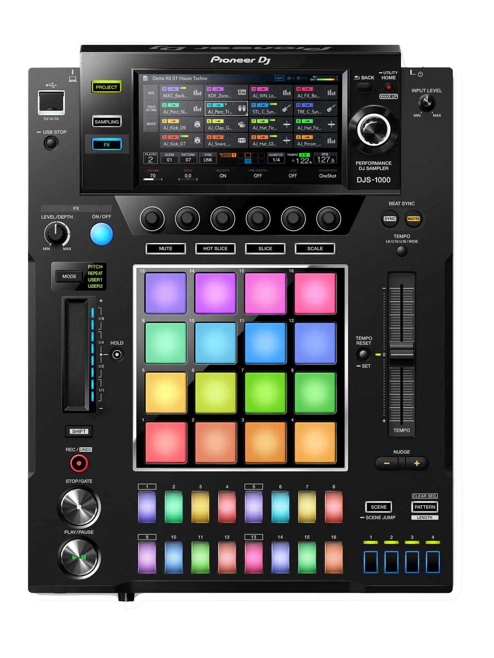 Pioneer Dj DJS-1000 [stand-alone DJ-friendly sampler] [!]