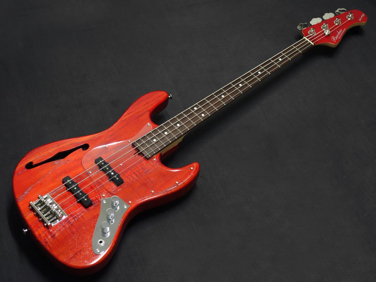 Bacchus WL4DX-ASH HOLLOW/R RED/OIL-MH【決算セール2020!!】