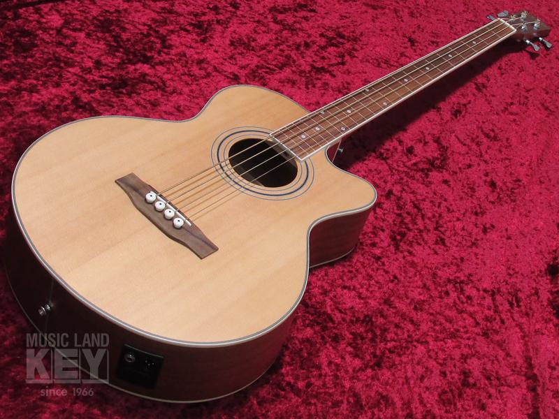 URIEL UJB-200FL CE NS [MUSICLAND KEY fretless electric acoustic guitar base !! of the original order]