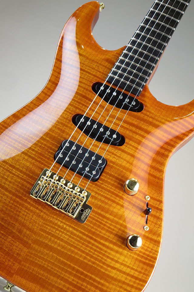 Marchione Guitars Carve-Top Amber S-S-H 2012
