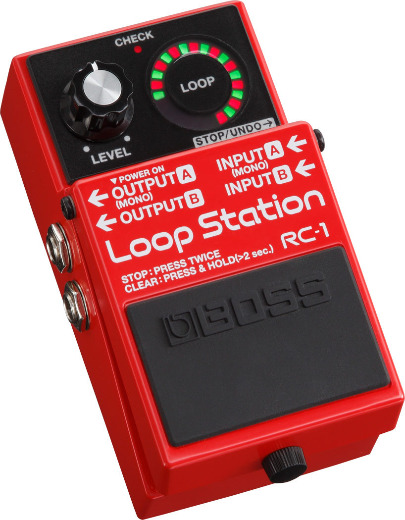 BOSS RC-1 Loop Station [Looper] [Dejimato limited + 9V battery one more service!]