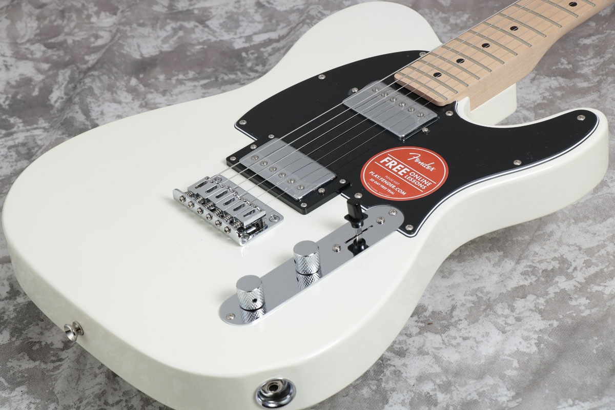 Squier by Fender Contemporary Telecaster HH Pearl White Maple [Yokohama]
