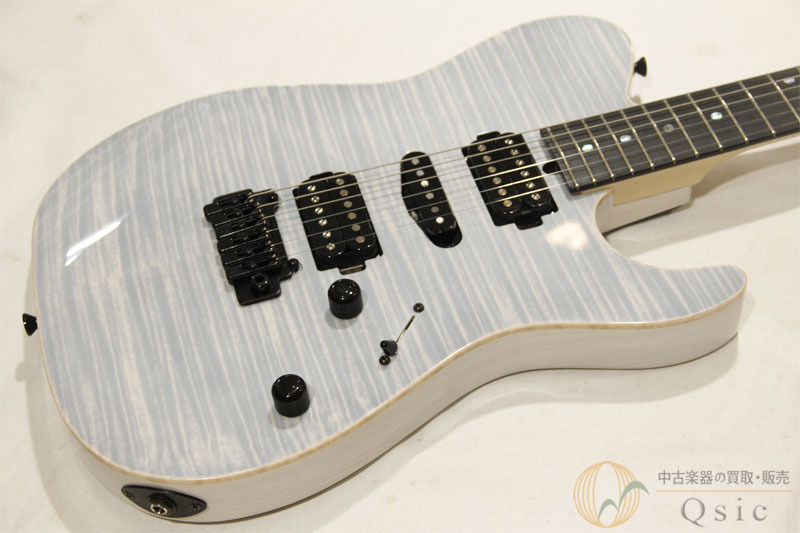 T's Guitars DTL-22 Custom Trans White 2019年製 【返品OK】[MG901]
