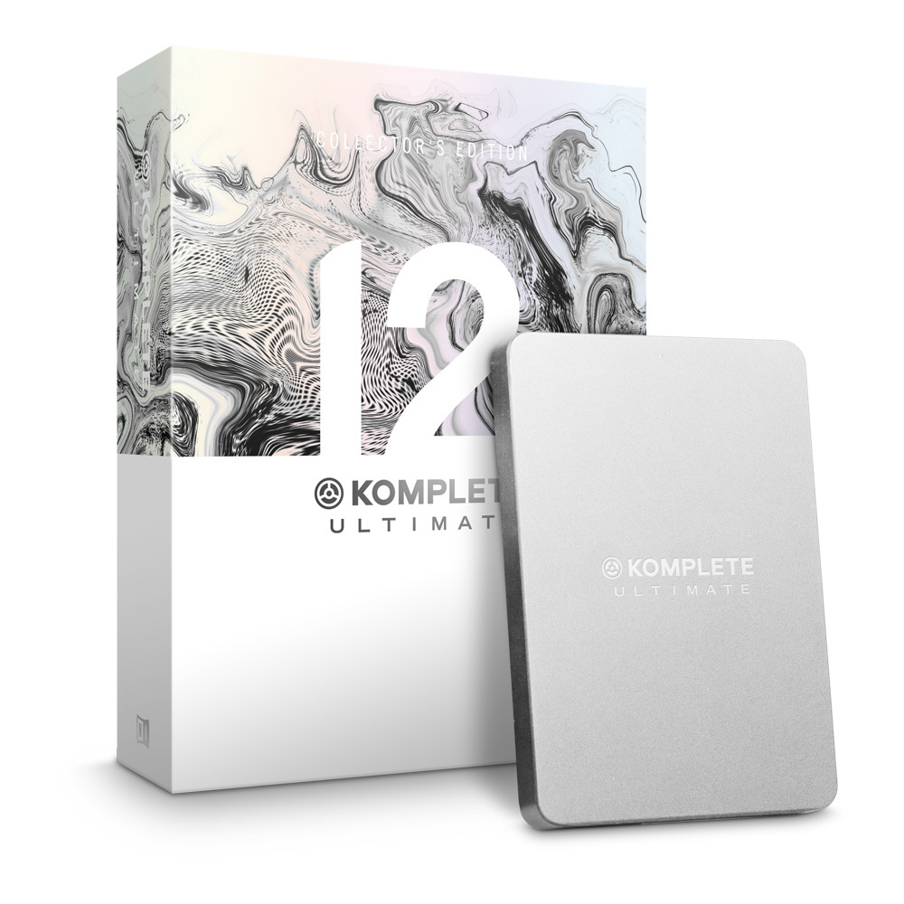 NATIVE INSTRUMENTS KOMPLETE 12 ULTIMATE Collector's Edition [10/1 sale reservations accepted] []