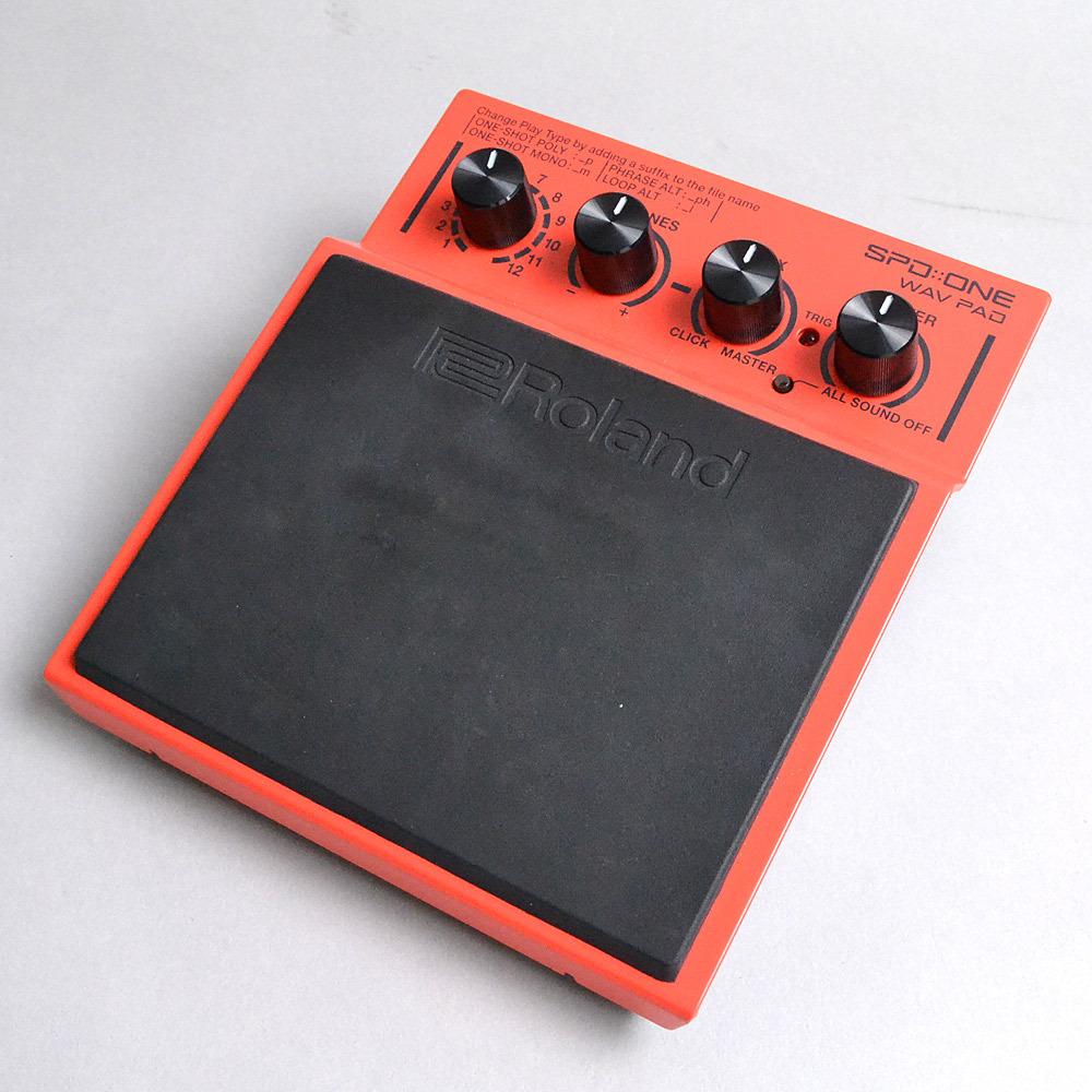 Roland SPD::ONE WAV PAD / RED【展示品につき特価!】