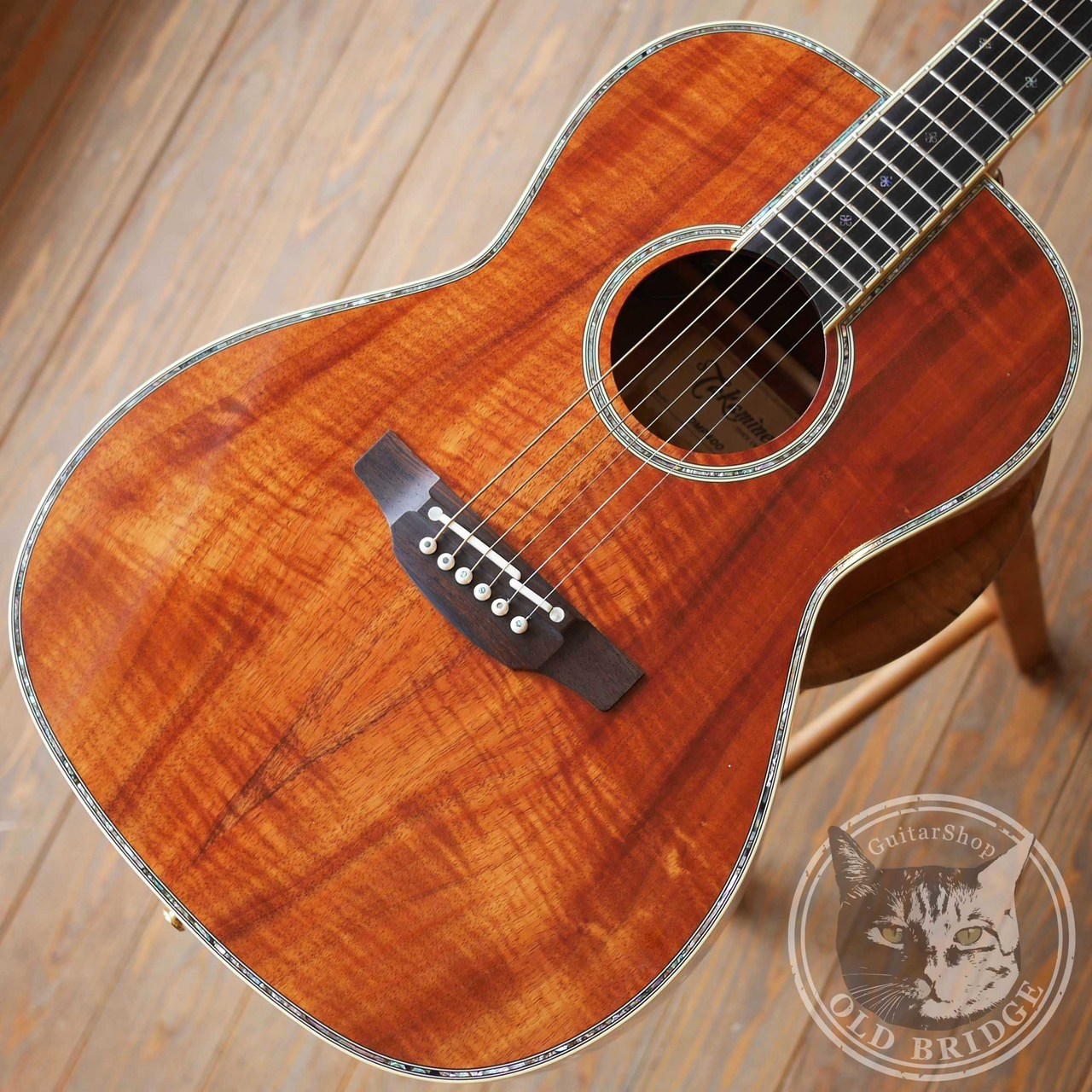 Takamine DMP400N Solid Hawaiian Koa