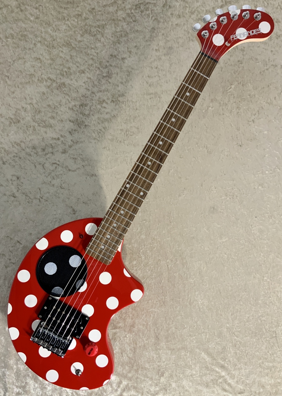 FERNANDES ZO-3 DOT RED/SW '19【限定カラー】