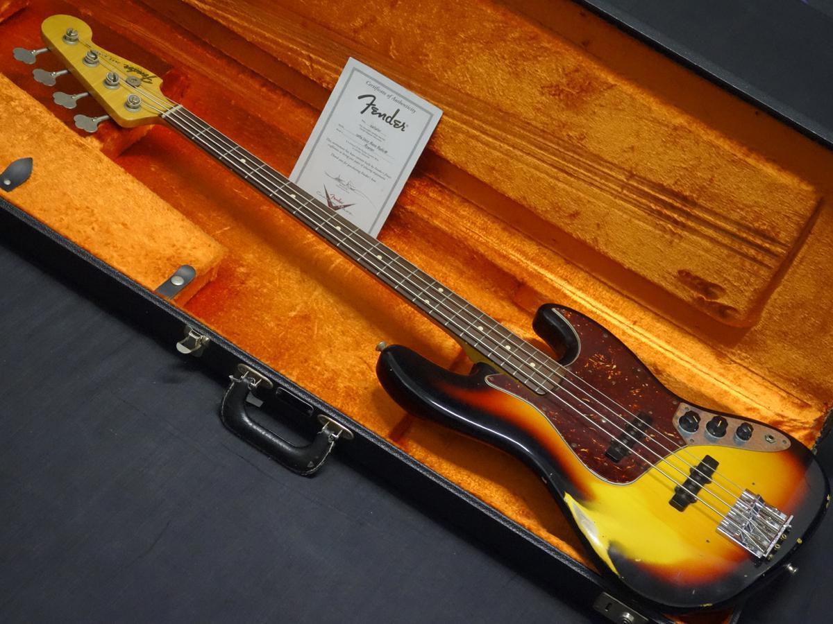Fender Custom Shop 1964 Jazz Bass Relic 3TS Mod【訳アリ大特価】【年末大感謝セール!!】 【岐阜店】