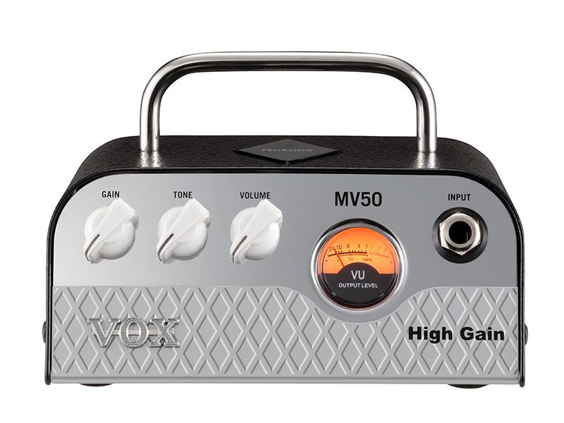 VOX MV50 High Gain 【アウトレット特価】【新真空管Nutube搭載ヘッドアンプ】
