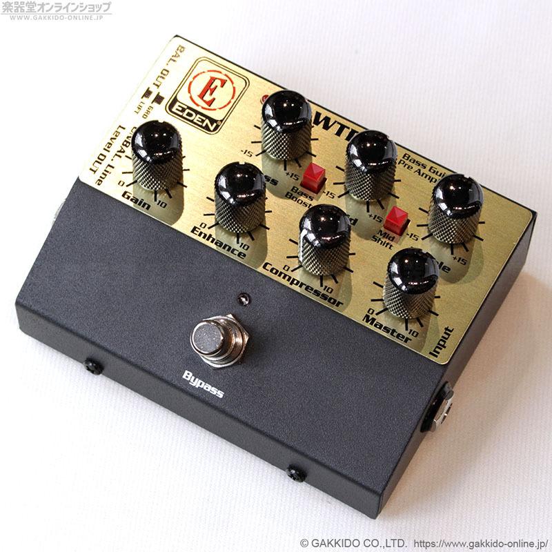 EDEN WTDI Bass Guitar Pre Amplifier ペダルプリアンプ