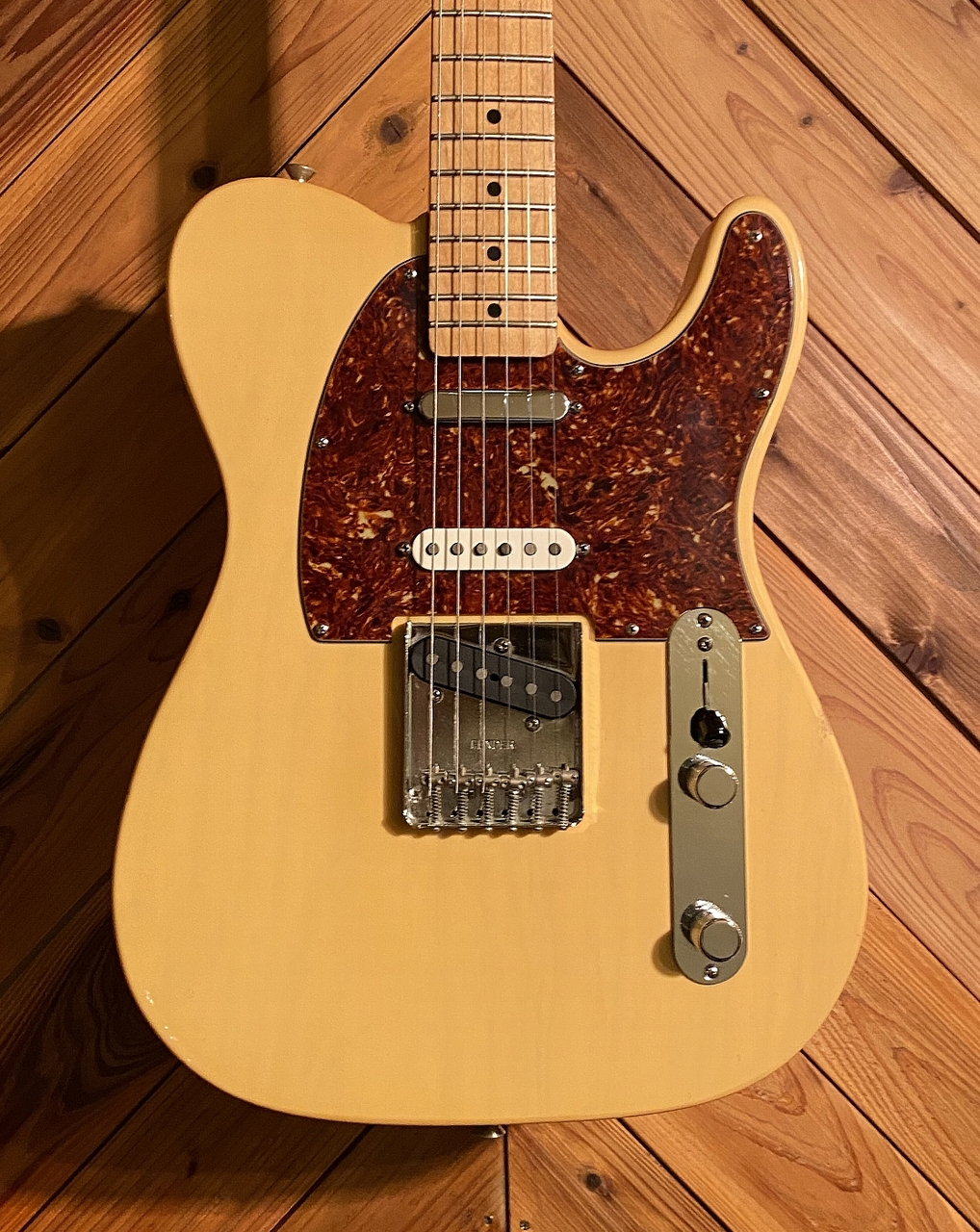 Fender Deluxe Nashville Telecaster Mex Honey Blonde 2005