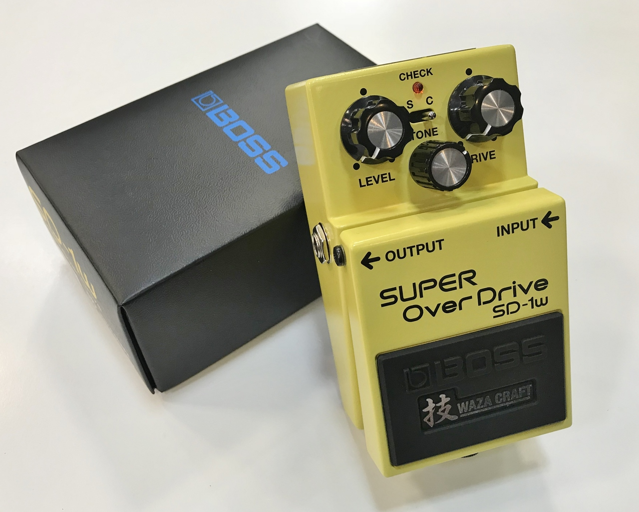 BOSS SD-1W SUPER OverDrive [used beauty goods] [overdrive]