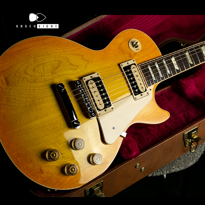 Gibson Gibson Les Paul Traditional Plain Top 2016 Zebra Plus Limited Lemon Burst 2016's