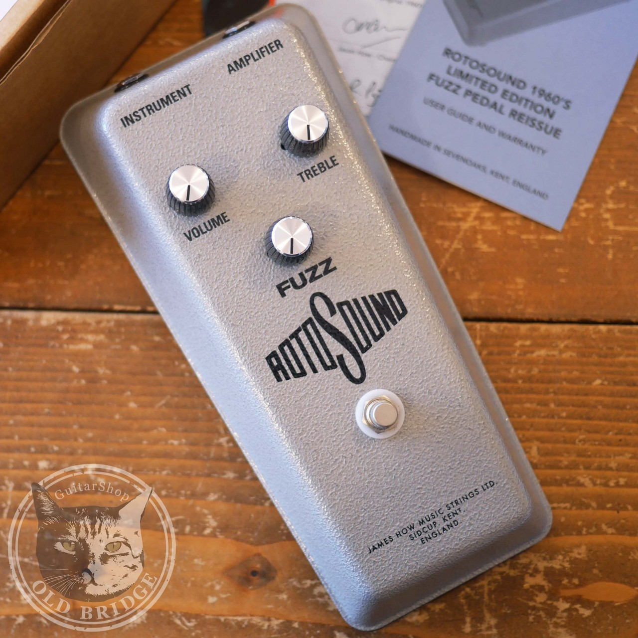 ROTOSOUND RFB1 1960s Limited Edition Fuzz Pedal Reissue
