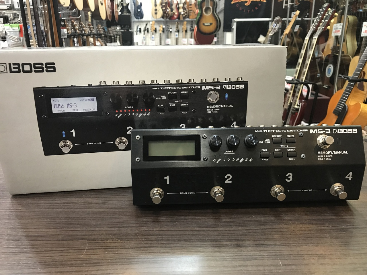 BOSS MS-3 Multi Effects Switcher [used article] [multi effector / Switcher]