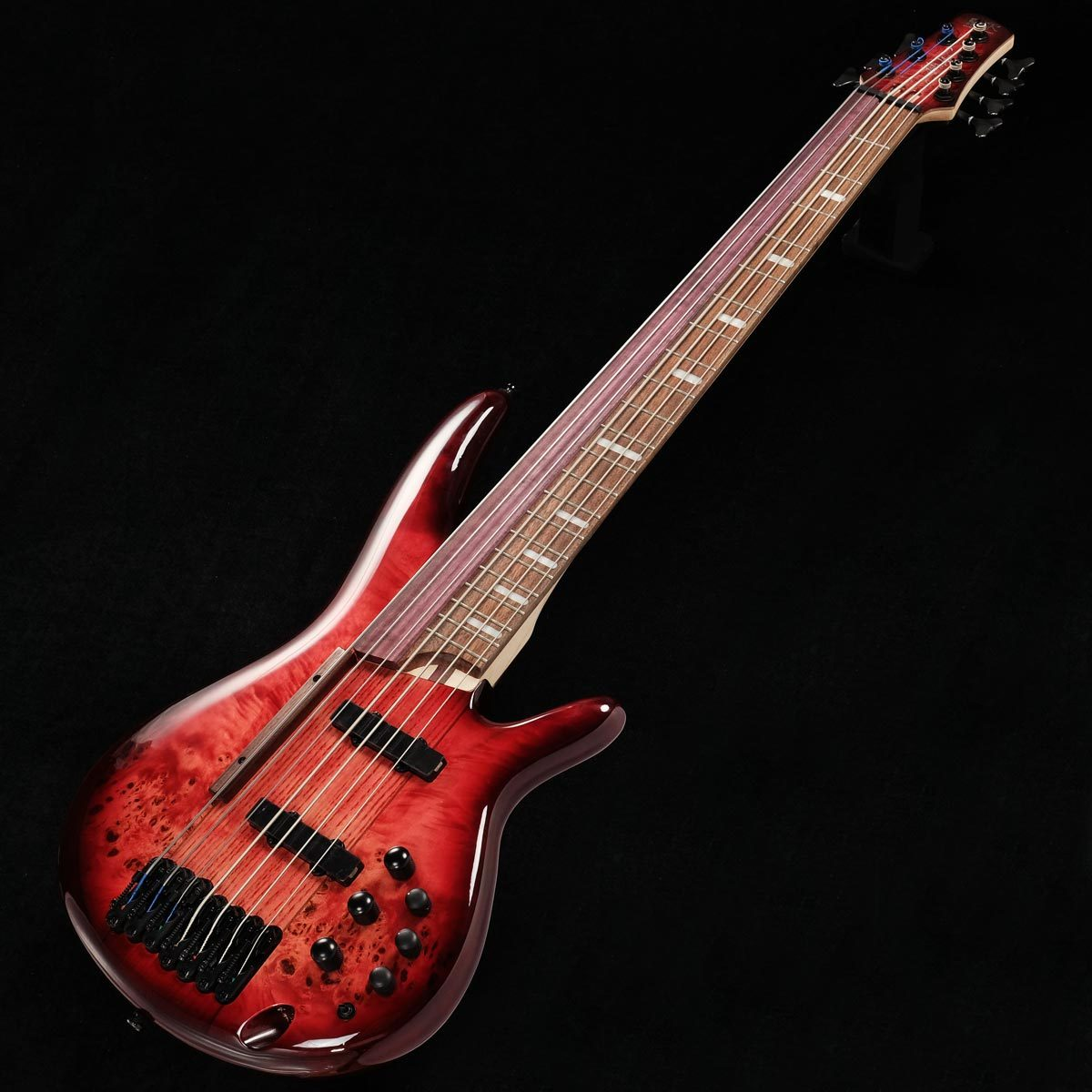"Ibanez SRAS7 ""Ashula Bass"" Raspberry Stained Burst Gloss 阿修羅ベース 【渋谷店】"