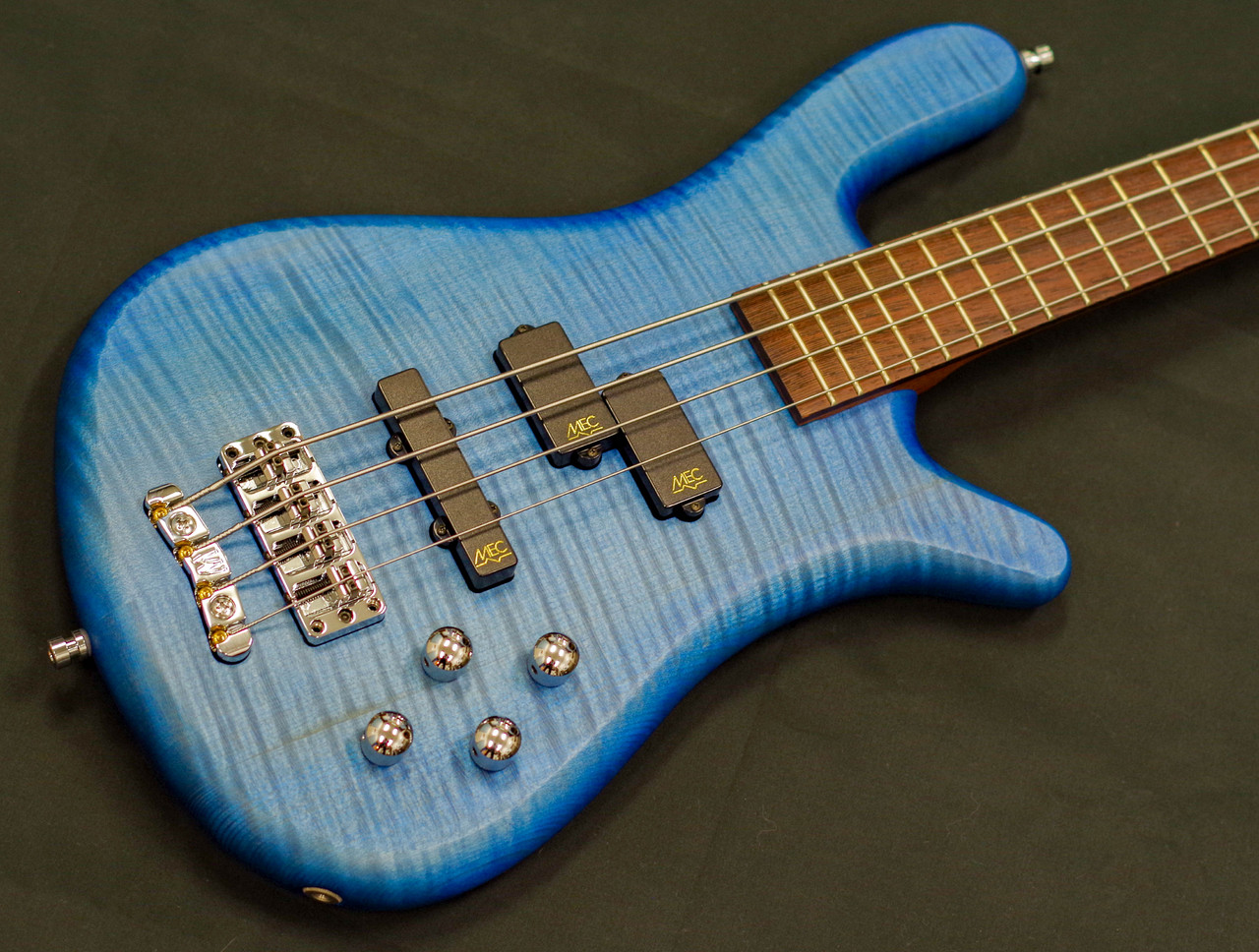 "Warwick GRPRO Team Built Streamer LX "" Flame Maple"""