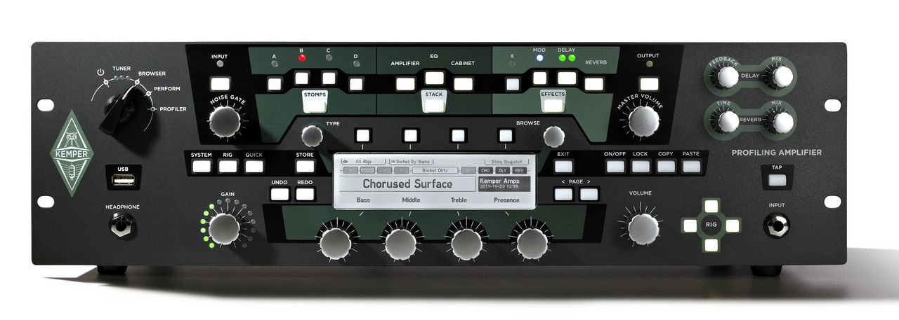 Kemper Profiling Power Rack power amplifier model equipped with [possible instant delivery]