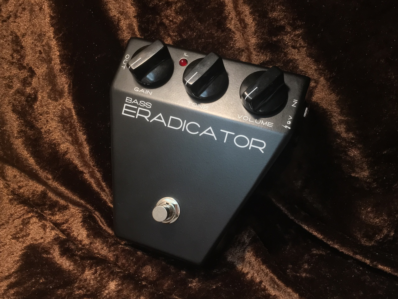 Satellite Amplifiers BASS ERADICATOR OVERDRIVE / DISTORTION [AC adapter included] [instant delivery Allowed!] ☆☆