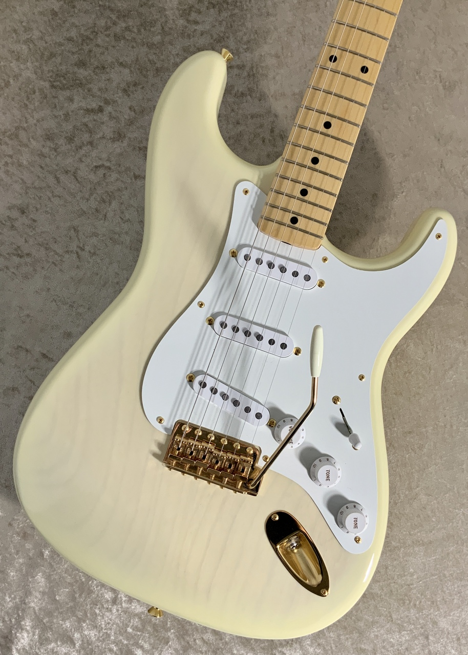 Fender Japan Made In Japan 2018 Limited Collection 50s Stratocaster White Blonde【オールラッカーフィニッシュ‼】