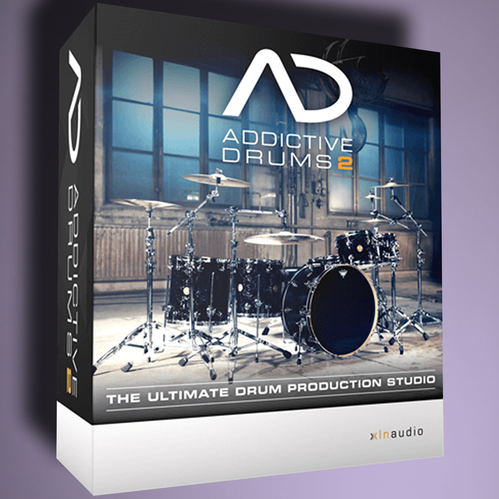 XLN Audio Addictive Drums 2 [download code product