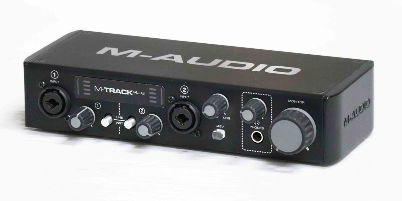 M-AUDIO M-Track Plus mk2