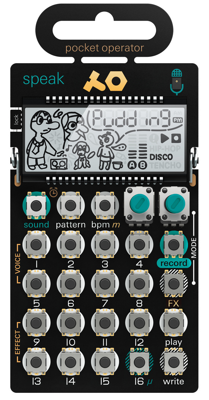 Teenage Engineering PO-35 speak [2/14 sale! Reservation in accepting!]