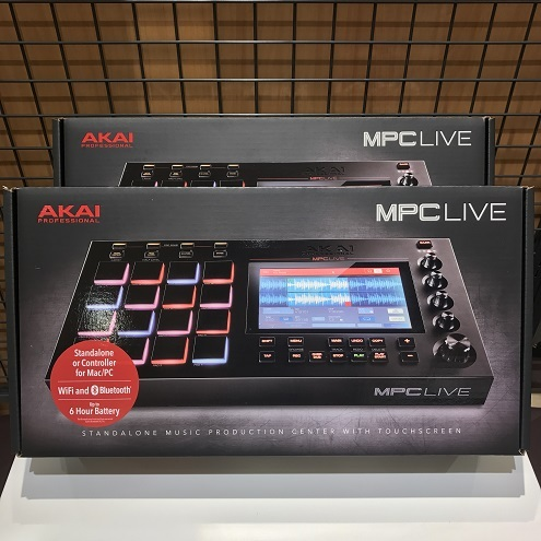 AKAI MPC Live [is one remaining]