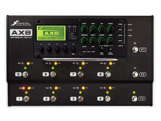 FRACTAL AUDIO SYSTEMS AX8 【プライスダウンしました!! AXE-FXの機能を凝縮したフロアモデル!!】【】