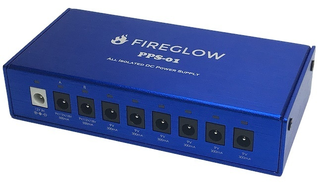 [Excellent high-performance power supply of COSPA] FIREGLOW PPS-01 -All Isolated Pedal Power Supply-
