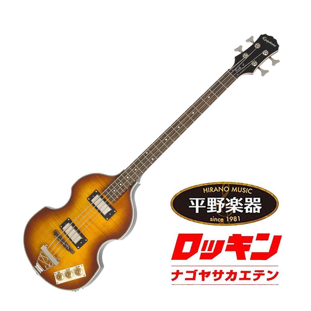 的Epiphone☆有限公司便宜的地下室!★中提琴低音復古炎爆