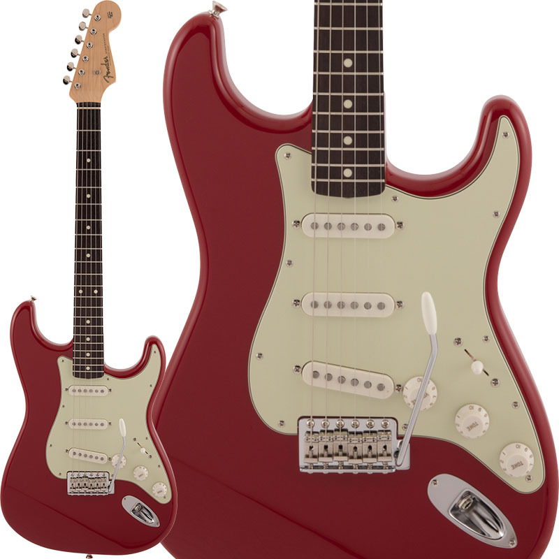 Fender Made in Japan 2020 Collection Traditional 60s Stratocaster (Dakota Red)