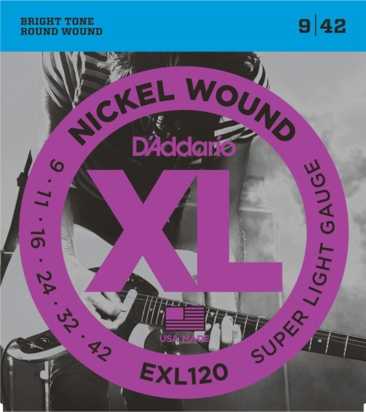 D'Addario XL Nickel Round Wound EXL120