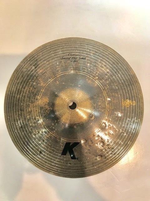 "Zildjian K Custom 10"" Special Dry Splash 【在庫ございます!!】"
