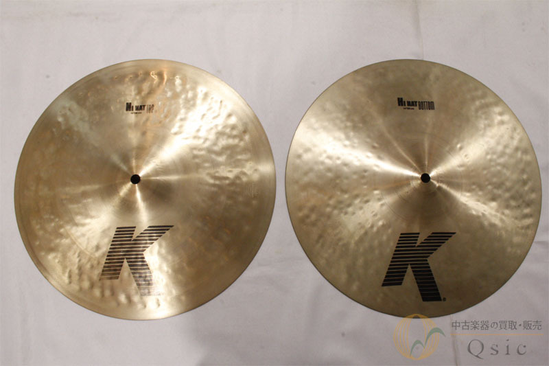 """Zildjian K Zildjian Hi-Hat 14 """"Set [SE068]"""