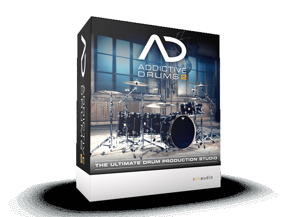 XLN Audio ADDICTIVE DRUMS 2 DL Edition 2018 HAPPY NEW YEAR MEGA BARGAIN 1/2 (Tuesday) to 1/8 (celebration, month)]