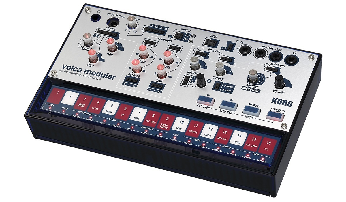 KORG volca modular [semi-modular analog synthesizers! Genuine adapter gift !!!!]