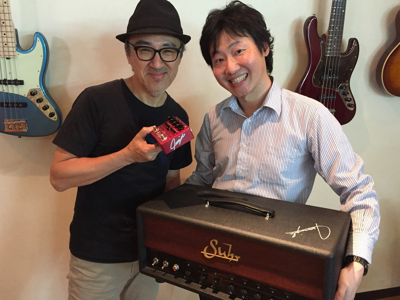 Suhr (regular imports) HEDGEHOG 50Head 1 single limited Takashi Masuzaki's autographed! Your identity Settings image also presents!