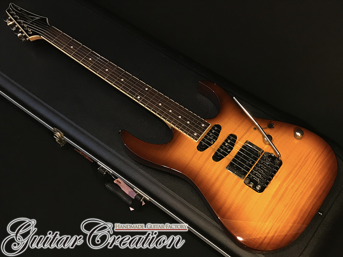 "Ibanez RG460VFM BBT '13年製【Brown Burst】""SynchroniZR tremolo bridge w/ZPS-FX"" 3.51kg"