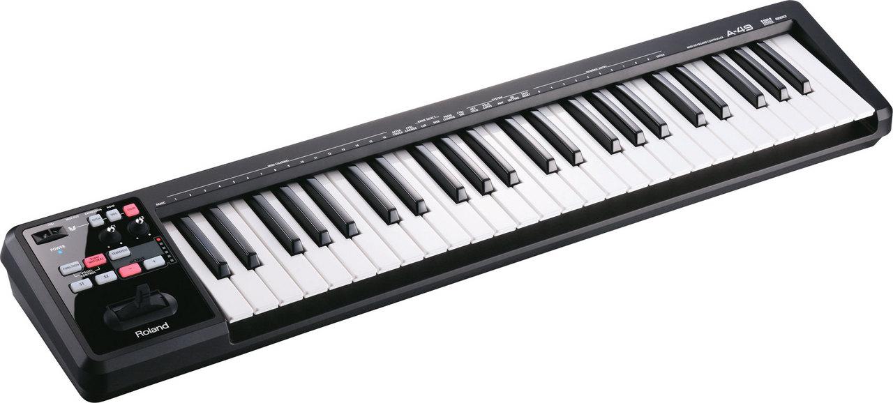 Roland A-49 BK MIDI Keyboard Controller