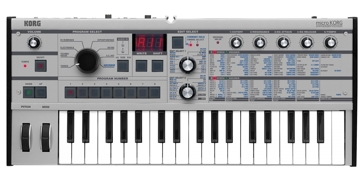 KORG microKORG PT [SDN '18 Commemorative 1Day bargain held! 6/24 limited bargain basement] []
