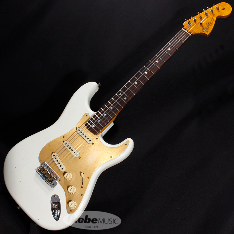 Fender Custom Shop 2019 Limited Big Head Stratocaster Jouneyman Relic (Aged Olympic White)