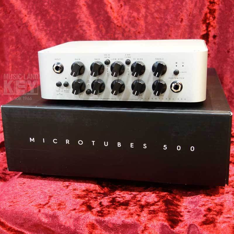Darkglass Electronics MICROTUBES 500 [500W head appeared !!!! of dark glass onset]