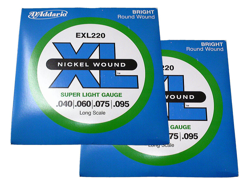 D'Addario EXL220 (.040-.095) Bass Strings × 2 set [bargain] [mail postage -